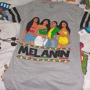 Melanin Poppin t-shirt